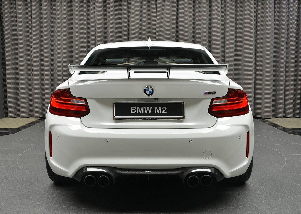 carbon fibre racing rear wing for bmw m2 f87 from. Black Bedroom Furniture Sets. Home Design Ideas