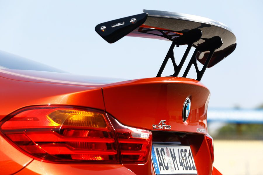 Carbon Fibre Racing Rear Wing For Bmw M3 F80 From