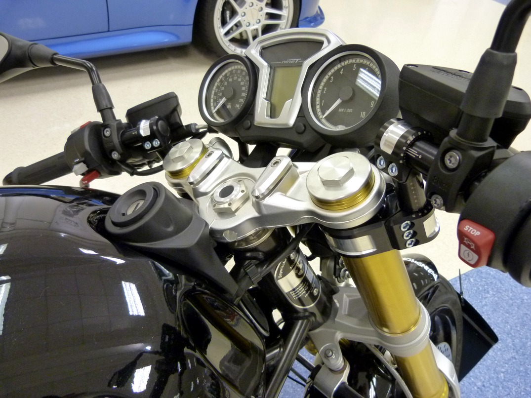 clip-on handlebar conversion kit for bmw r ninet
