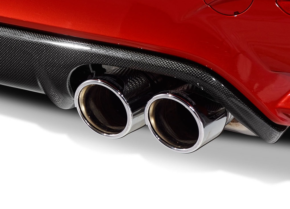 90mm Sport Chrome Tailpipe Set For Bmw M4 F82 F83