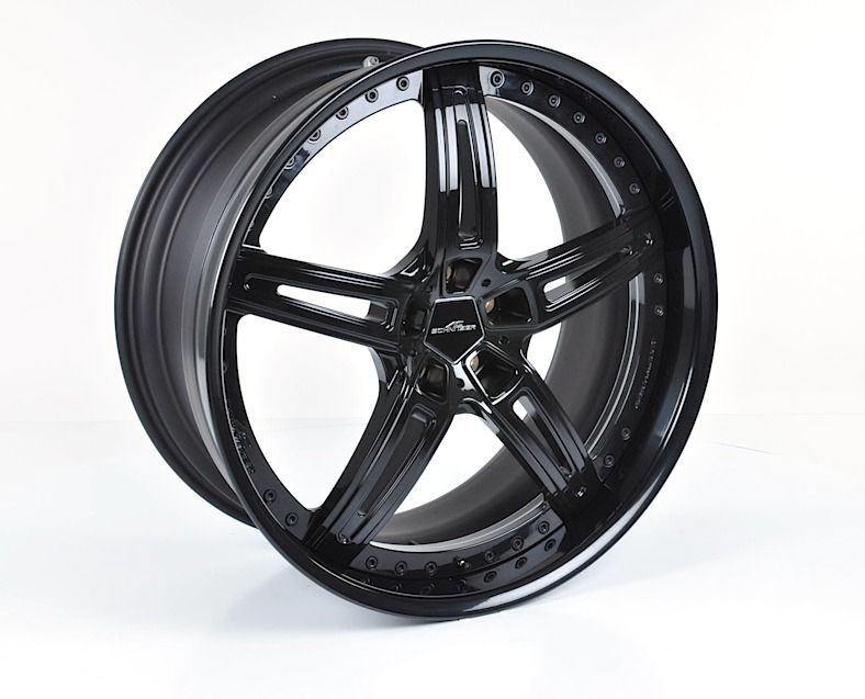 Ac1 Multipiece 22 Black Alloy Wheel Sets For Bmw X5 G05 From