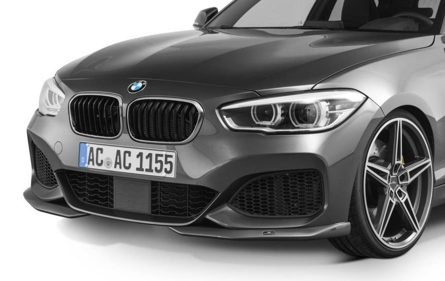 Front Spoiler Elements For Bmw 1 Series F20 F21 Lci M Sport