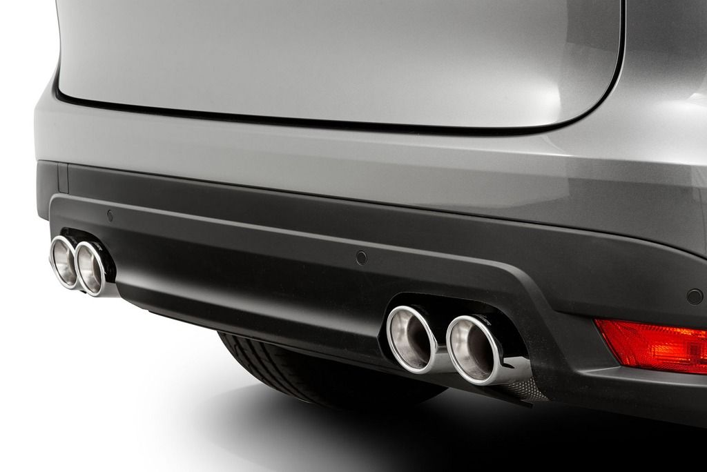 Quad Sports Exhaust For Jaguar F Pace From